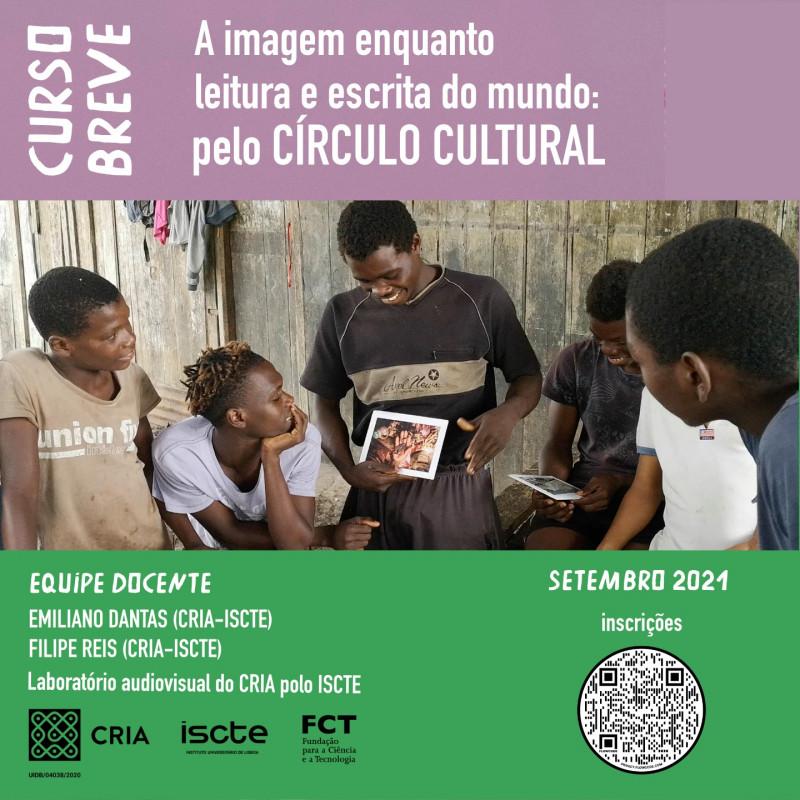 A imagem enquanto leitura e escrita do mundo: pelo Círculo Cultural | Formato Online